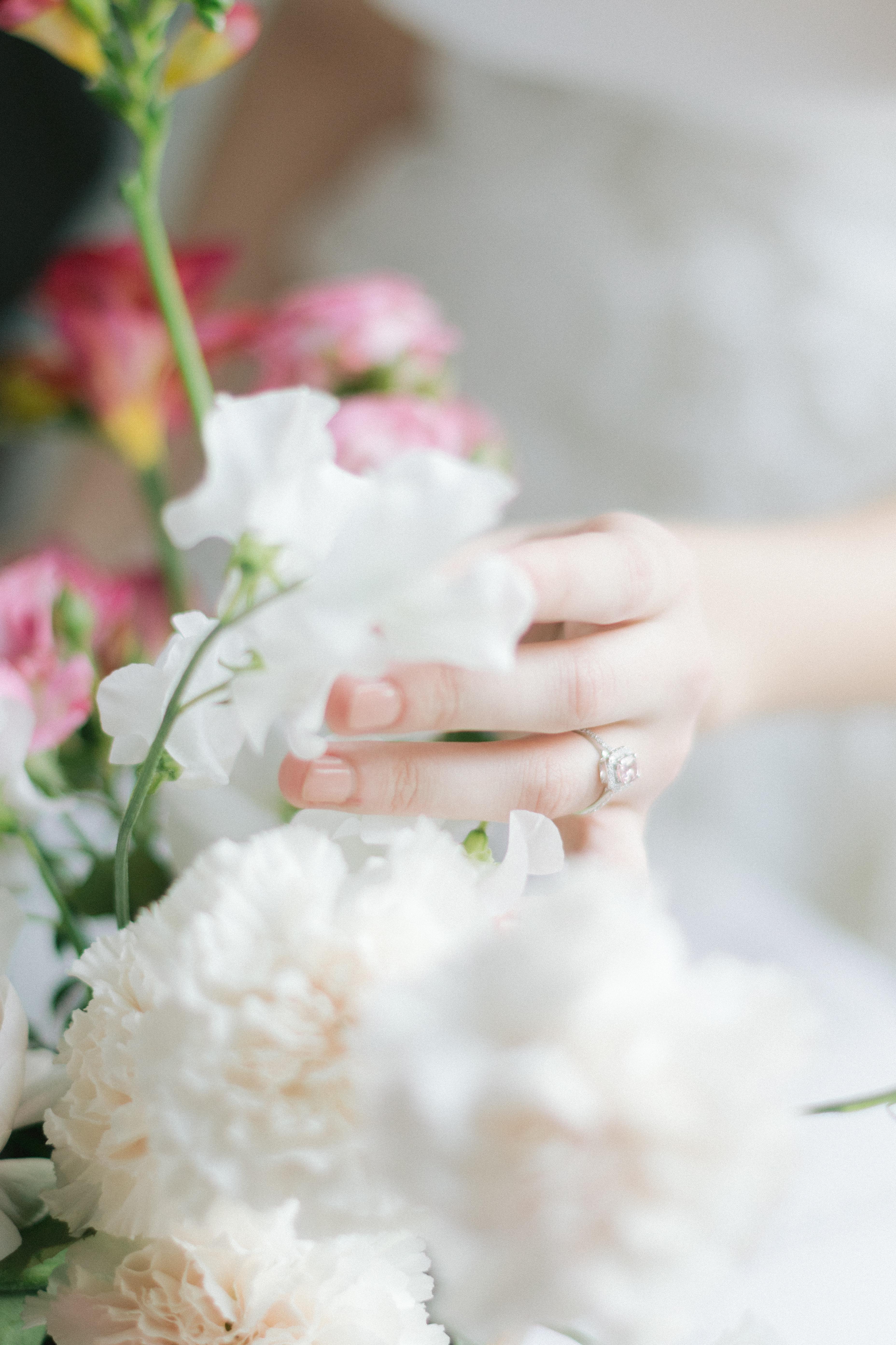 composition floral mariage luxe-idées mariage