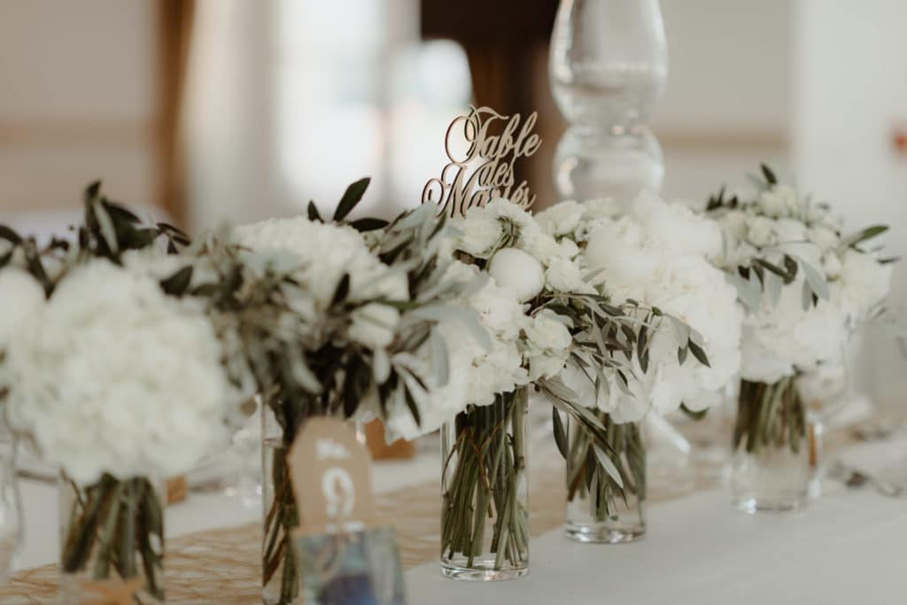 table des mariés-idées mariage
