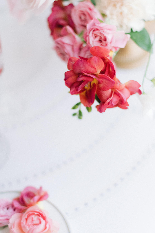 Camaieu de fleurs-idées mariage