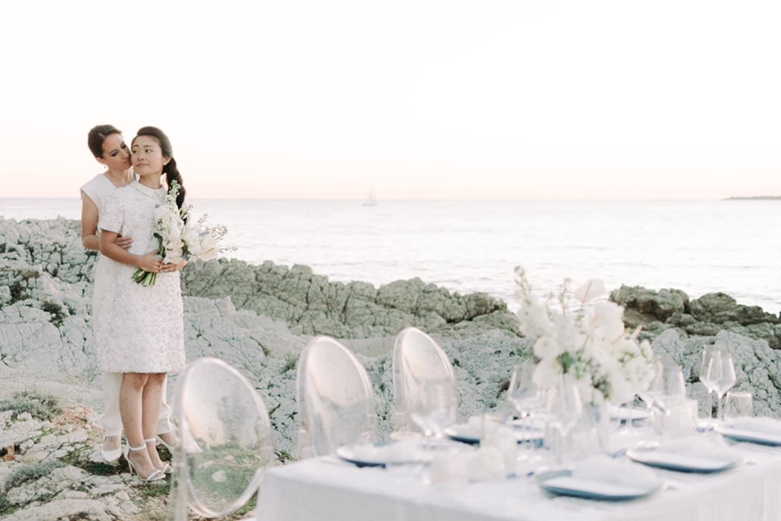 White Wedding légèreté et pureté