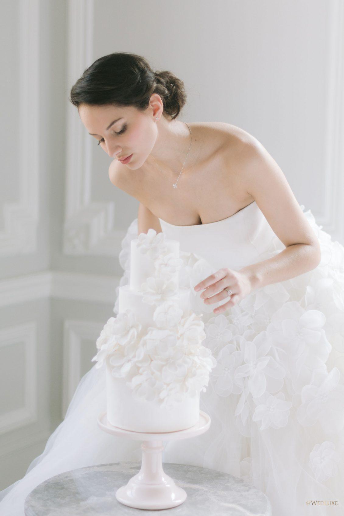 White Wedding fleurs et blanc éclatant