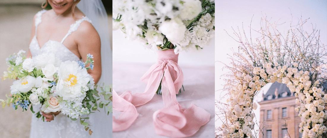 Réalisation bouquet de mariée pour un jour inoubliable