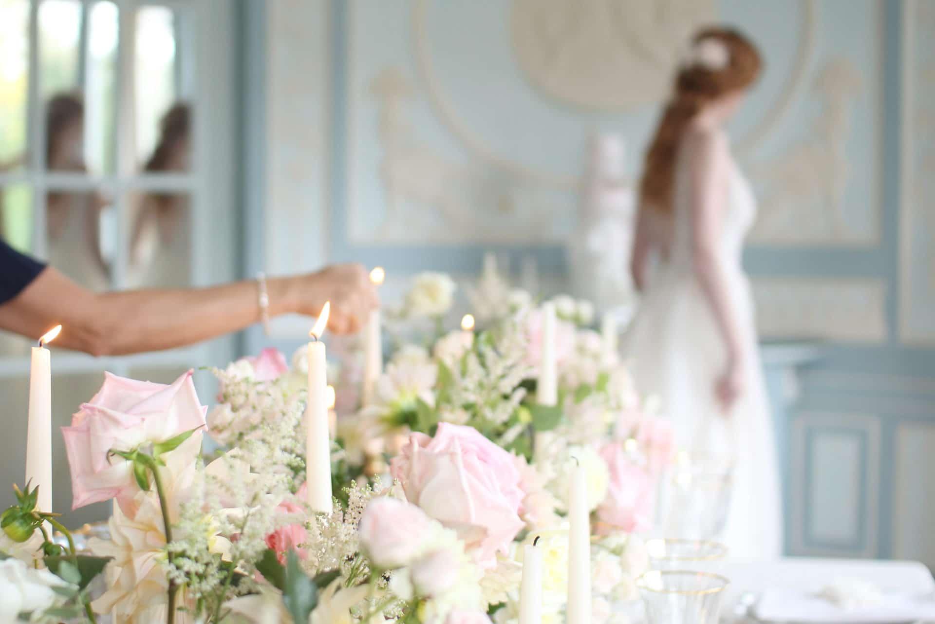 ambiance digne des plus luxueux mariages