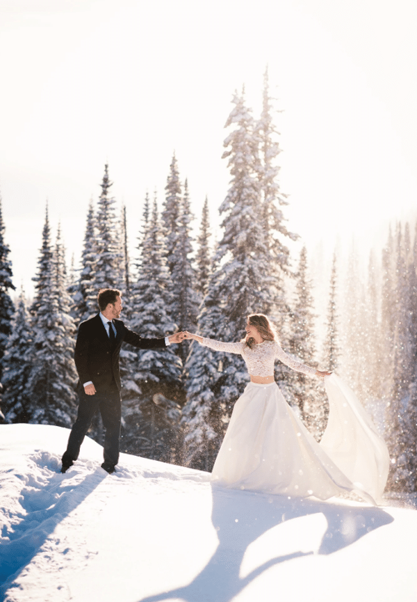 inspiration mariage hivernale
