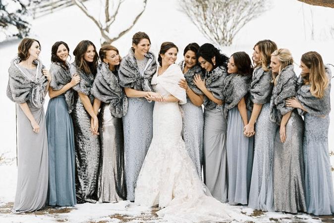 inspiration mariage en hiver