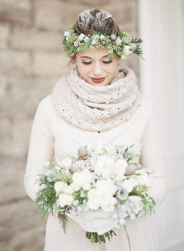 Se marier en hiver pour la magie des paysages enneigés