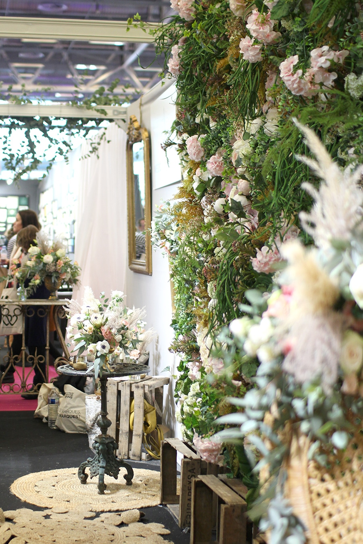 décoration stand salon du mariage