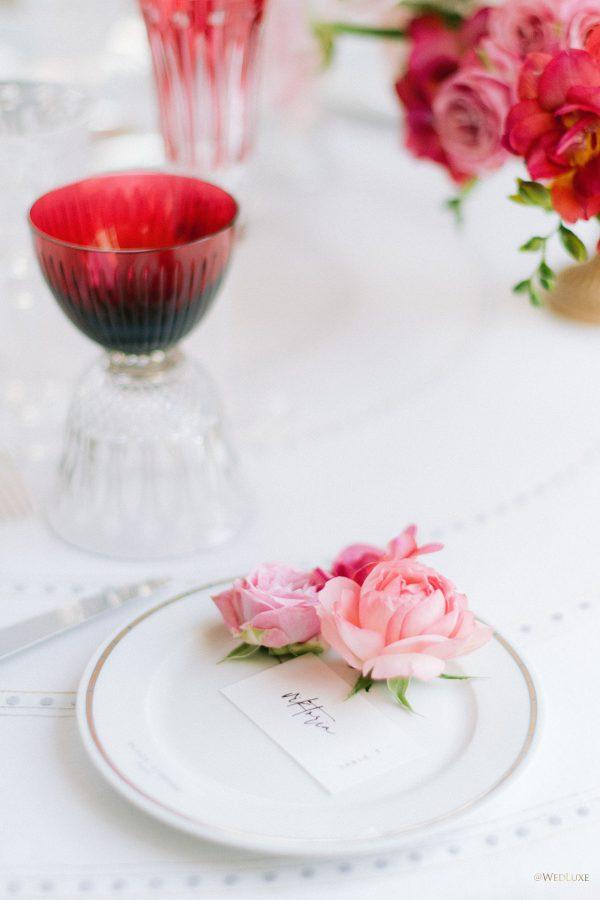 choix déco table mariage