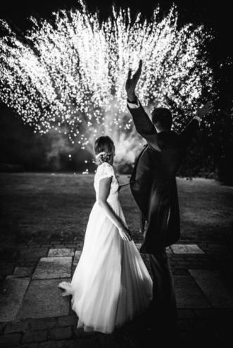 Feu d'artifice des mariés - Milo Photographie