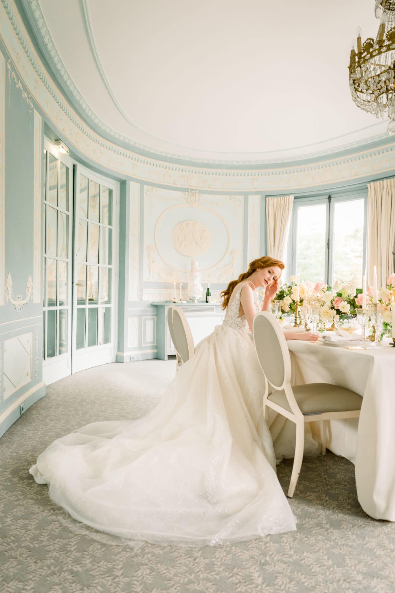 Salon mariage Paris, inspiration mariage luxueux esprit Marie Antoinette
