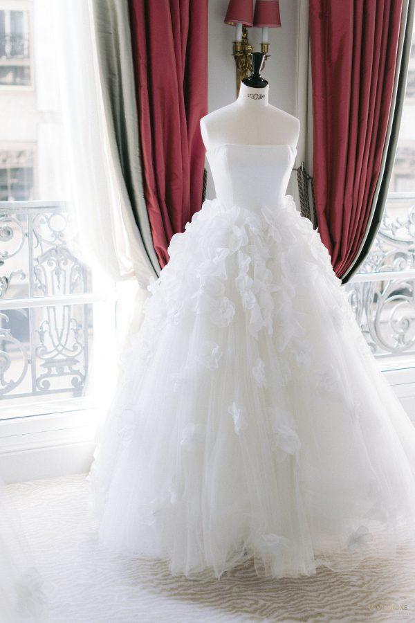 choix de la robe avec wedding planner