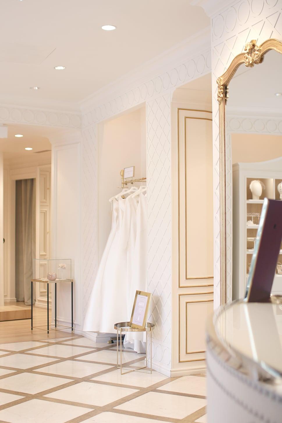 boutique Paris essayage robes de mariées