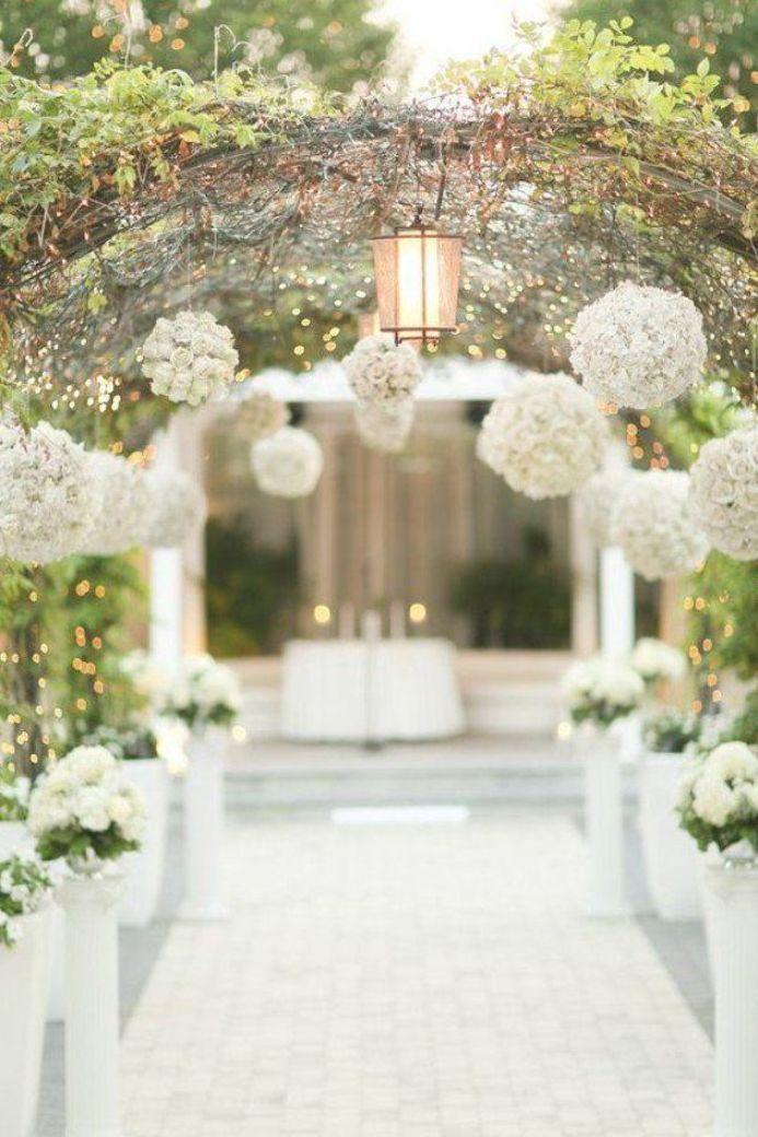 décor blanc mariage cérémonie laïque