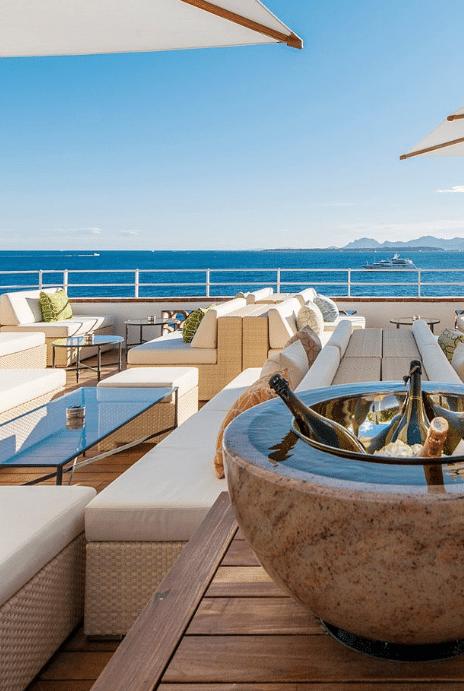 hotel de luxe à Antibes Cap Eden Rock - Atout Cœur Wedding