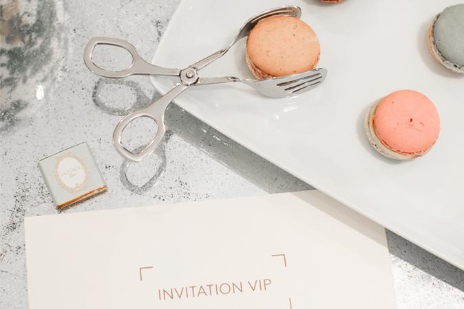 Shopping VIP pour les futurs mariés
