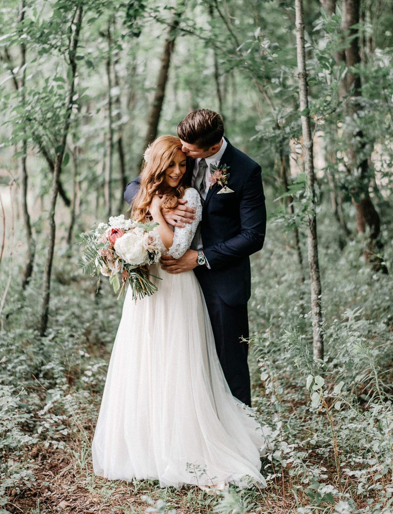 mariage de luxe en foret