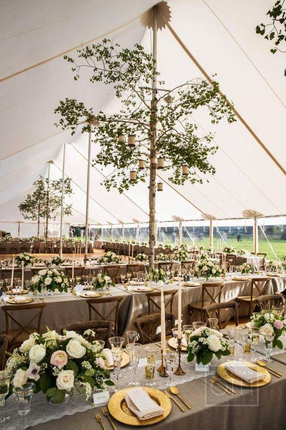 table de mariage haut de gamme