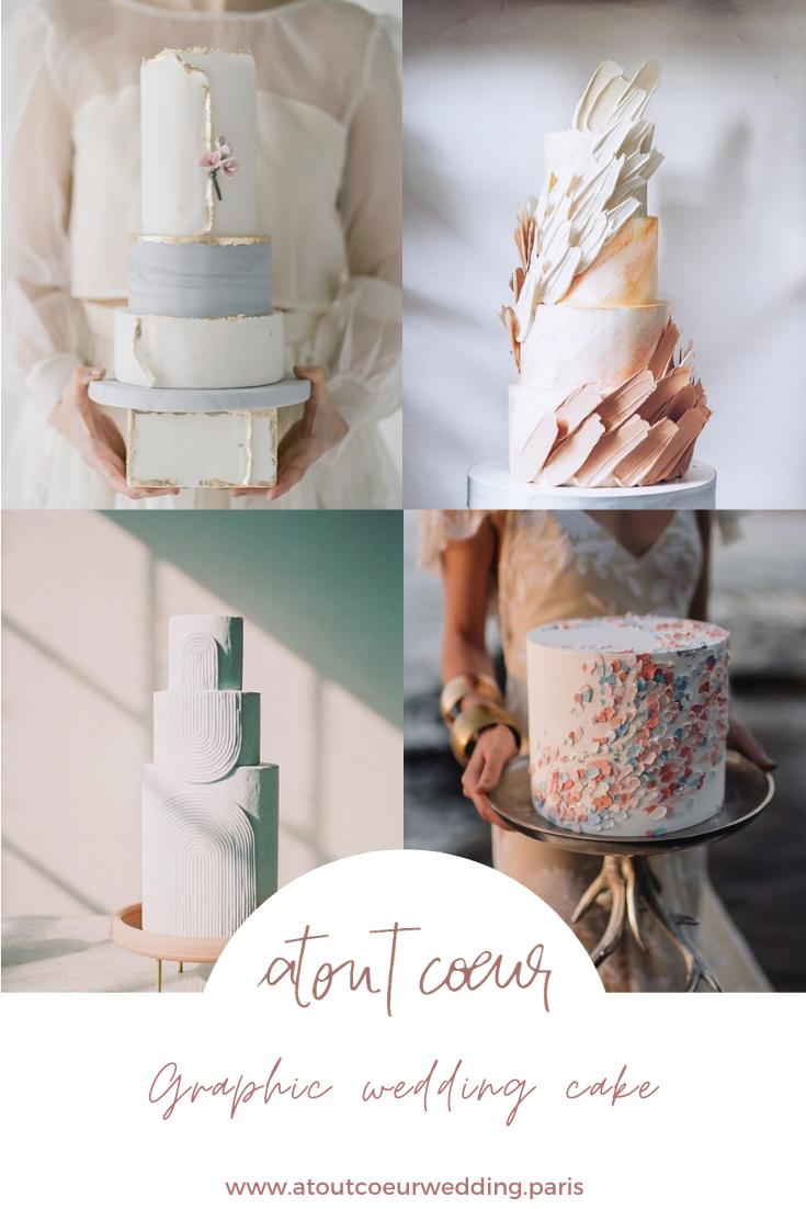 wedding cake graphique