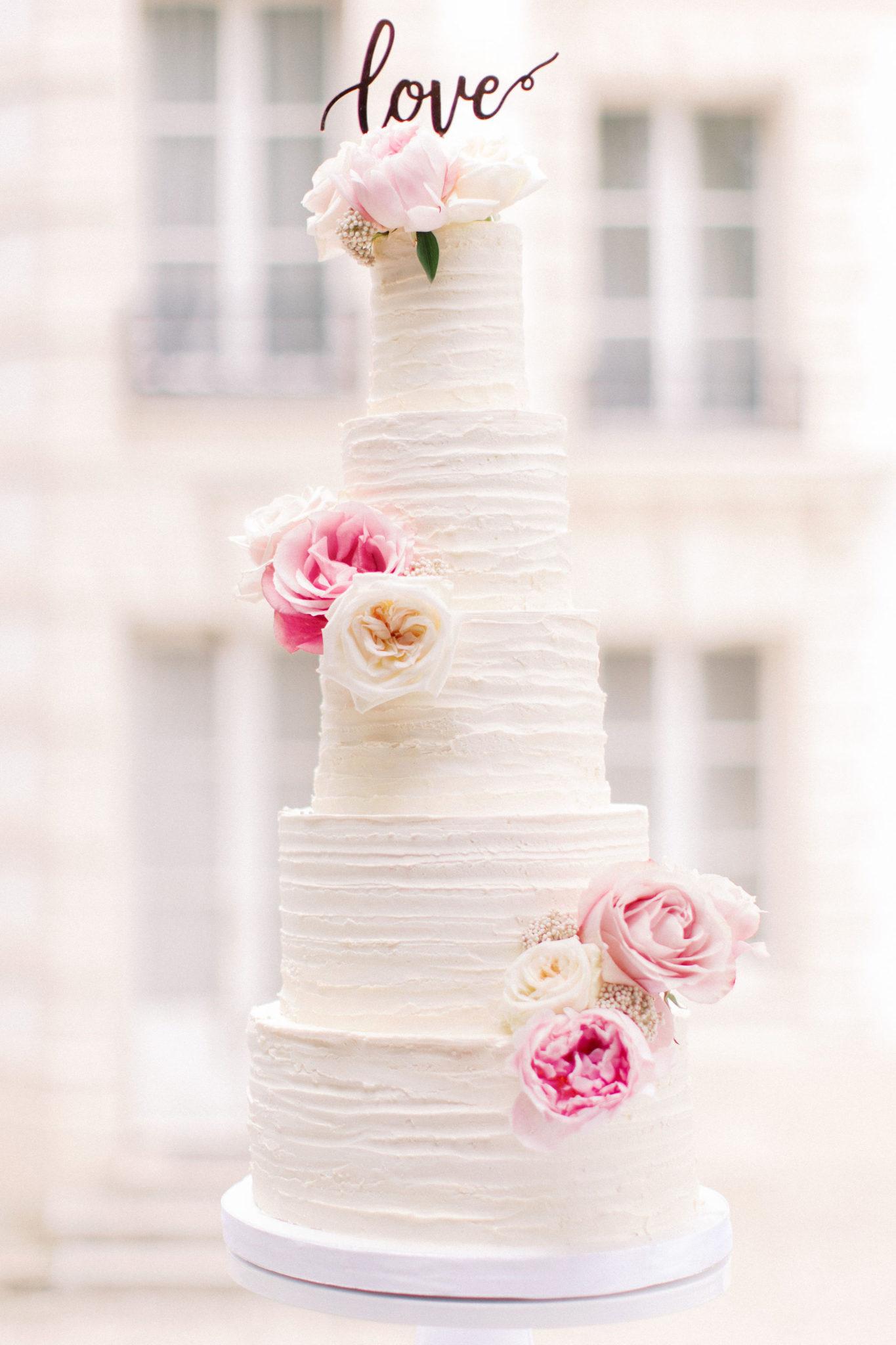 Inspiration et choix pour mon wedding cake