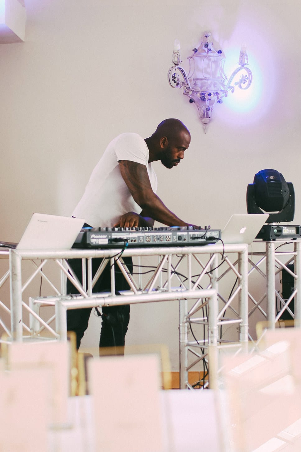 DJ mariage luxe