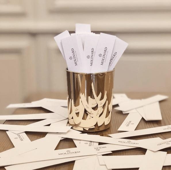 fragrance haut de gamme cadeau d'invité mariage