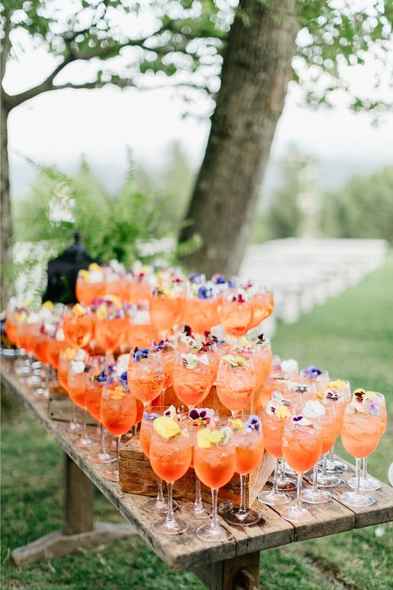 inspiration cocktail mariage