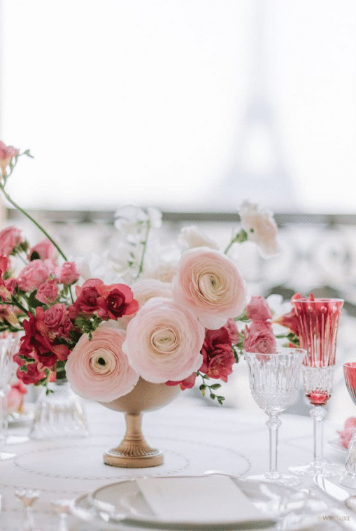 table mariage chic luxe paris